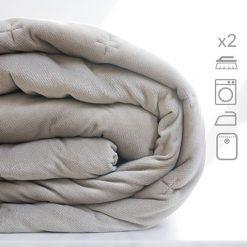 Tintorería - Pack 2 cubres edredones