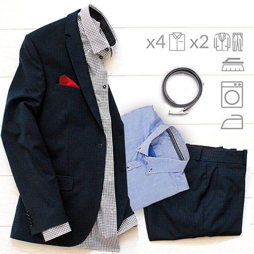 Tintorería - Pack 4 camisas / 2 trajes